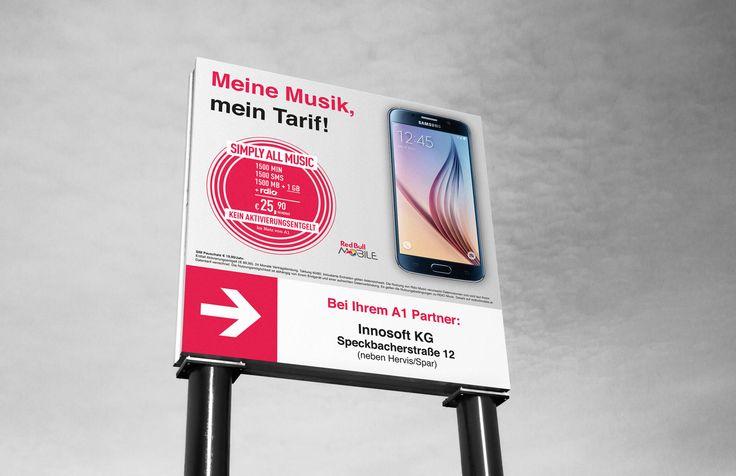 Plakatwand für Innosoft KG