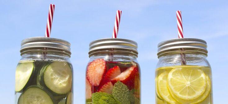 Águas detox aromatizadas: Nutritivas, saborosas e práticas