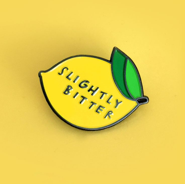 http://sosuperawesome.com/post/151174344170/slightly-bitter-enamel-pin-by-blair-roberts-find