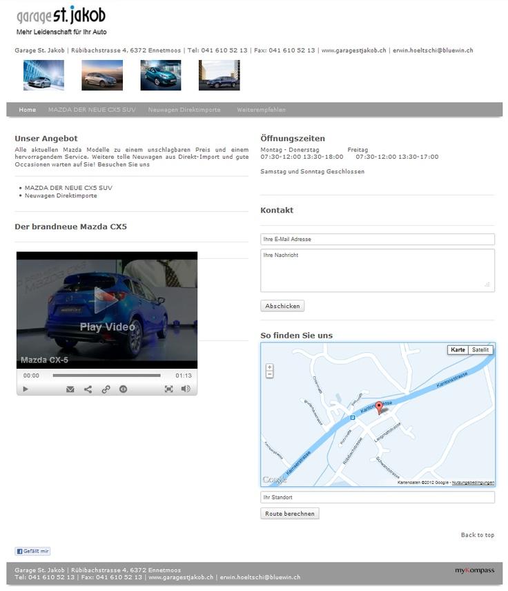 Mazda, Garage, Auto, Neuwagen, Autoreparatur, Autoservice, Pneugeschäft, Auto O…