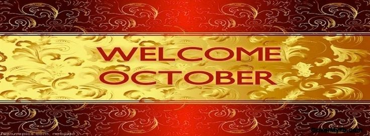 Welcome October Facebook Covers, Welcome October FB Covers, Welcome October Facebook Timeline Covers, Welcome October Facebook Cover Images