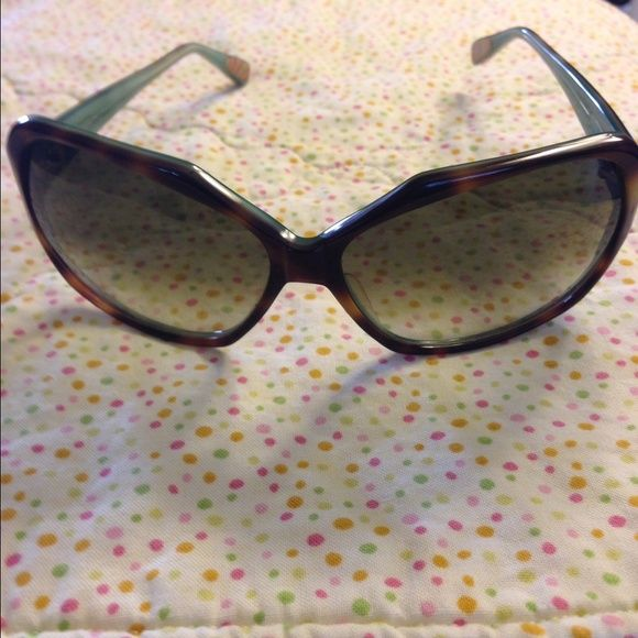 Paul Smith sunglasses Tortoise with light green inside . Brown gradient lenses . Paul Smith Accessories Sunglasses