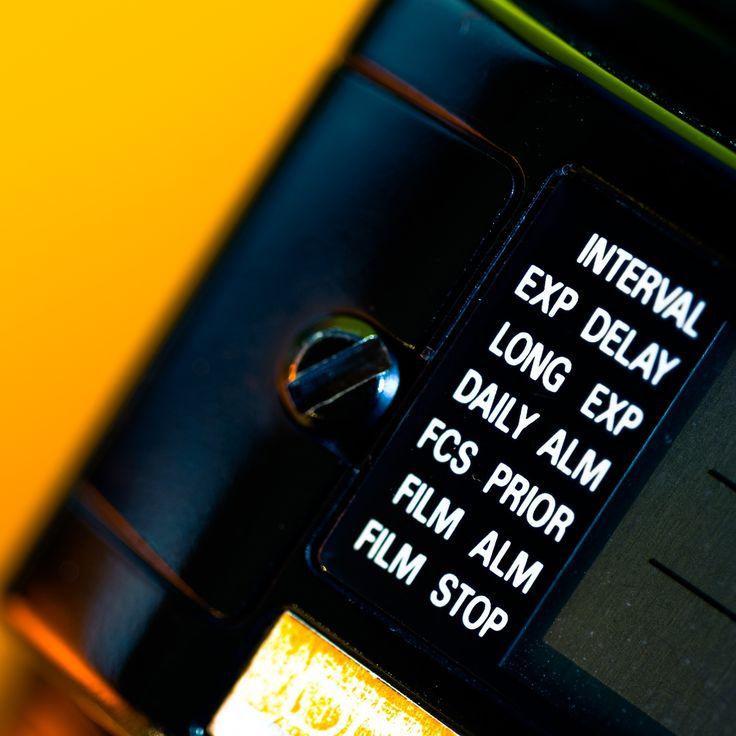Control - Up close to theNikon MF-24 multi control Back for Nikon F4