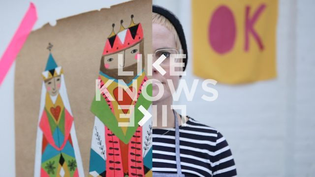 Lisa Congdon - Like Knows Like by Like Knows Like. This is Lisa Congdon, she is a fine artist and illustrator from San Francisco, CA