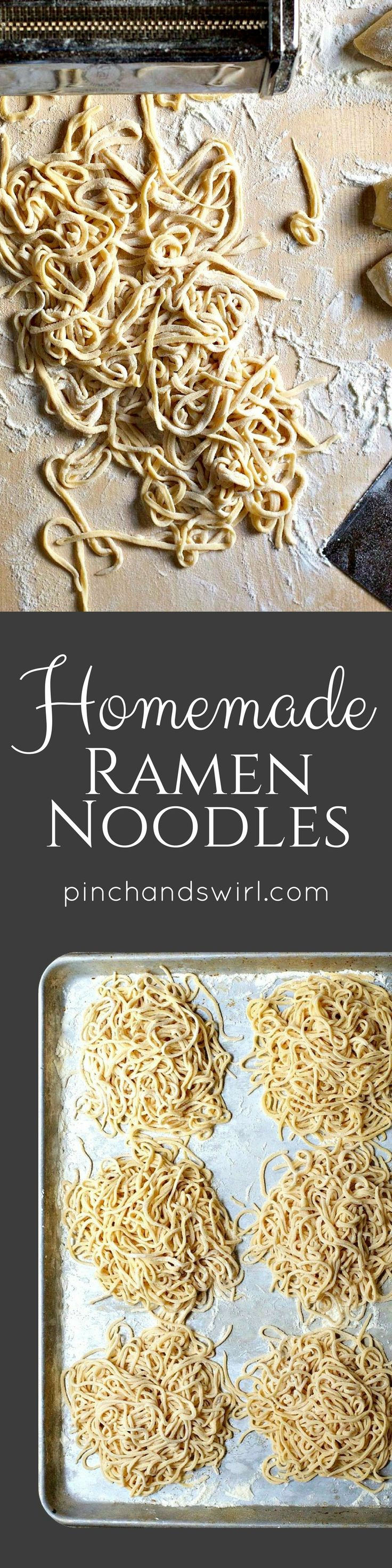 If you've wondered how to make homemade ramen noodles, you have to try this! Through trial and error, I've developed a reliable recipe that works every time. And the ramen noodles freeze beautifully, so make a big batch to have on hand for quick and easy meals!
