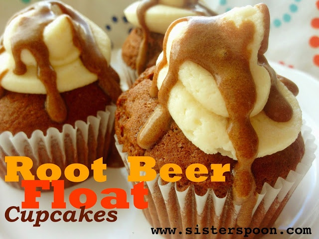 Sister Spoon - Root Beer Float Cupcakes.  These are awesome, they taste exactly like a root beer float.  Perfect for summer picnics and parties.