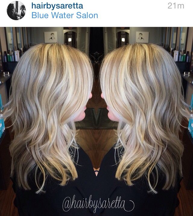 Best 25 foil highlights ideas on pinterest natural blonde hair by saretta naples fl layered platinum blonde full foil highlights solutioingenieria Choice Image