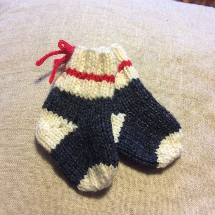 Knitting Pattern For Bernard The Elf : Adorable work sock baby booties. Made for my Grandson ...