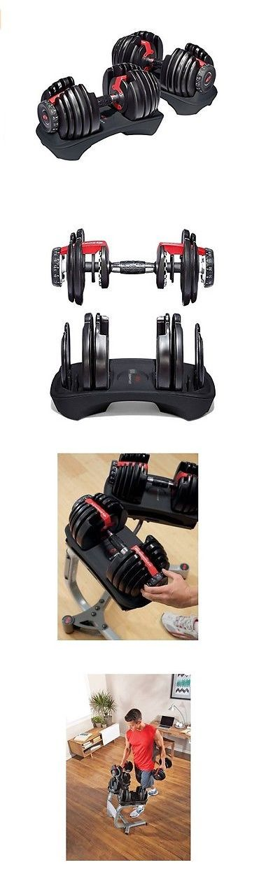 Weight Storage 179819: Bowflex Selecttech 552 Fitness Workout Gym Adjustable Weight Dumbbells Set Pair -> BUY IT NOW ONLY: $295 on eBay!