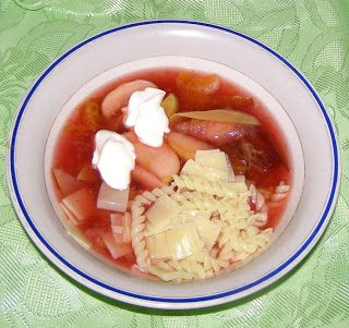 W Mojej Kuchni Lubię.. : zupa owocowa...