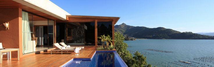 Ponta dos Ganchos hotel - Santa Catarina - Brazil