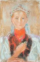 Mattioni Eszter, Hollósné (1902-1993): Menyasszony | axioart.com