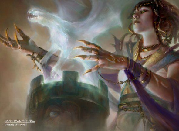 As ilustrações de fantasia para o card game Magic: the Gathering de Ryan Yee