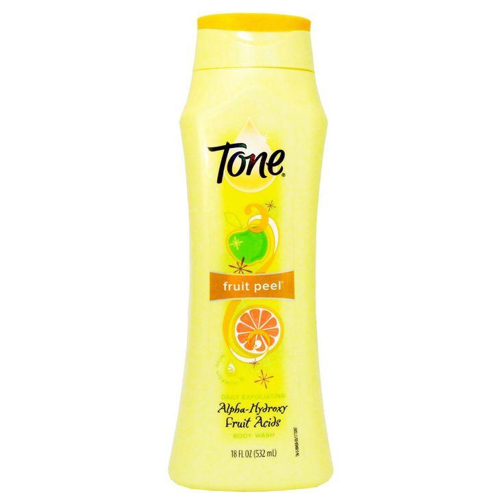 Tone Body Wash Fruit Peel 18 Oz