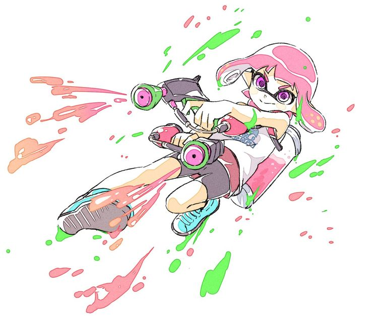 Drawings made by @comamawa, subjects are taken from Splatoon game. Twitter: https://twitter.com/comamawa