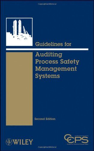 Get it now.. Guidelines for Auditing Process Safety Management Systems