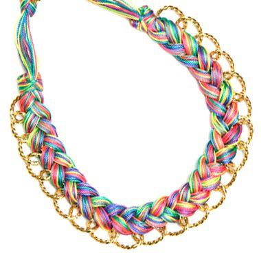 Collar de varios colores  / Joyería / Moda femenina / Accesorios para mujer