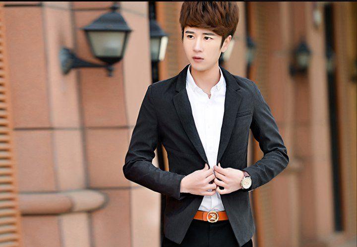 CM00174 Casual fashion slim business suit for men