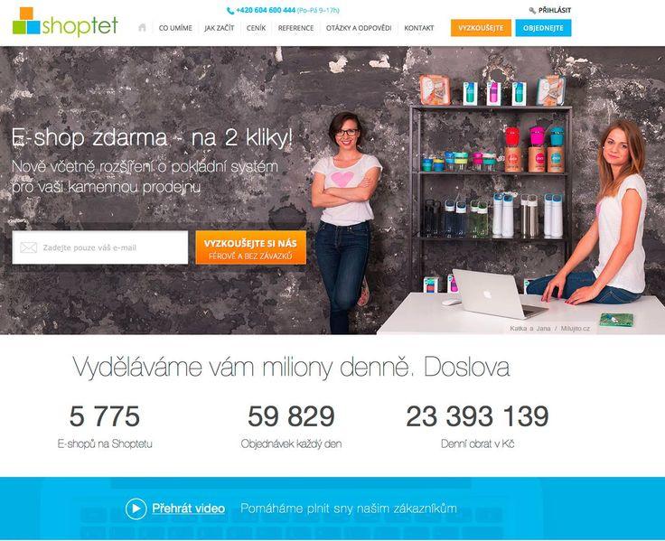 Pravidelně děláme radost novinkami našim klientům a tak jsme se rozhodli udělat pro tentokrát radost i sobě. A to zbrusu novým kabátkem pro náš web www.shoptet.cz Bylo nám velkou ctí, že děvčata z Milujito.cz souhlasila být našimi vizuálními ambasadory :)