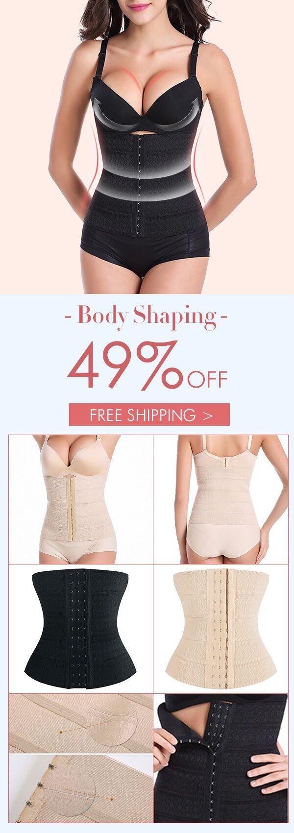 Breathable Elastic Corset Waist Trainer Hot Shaper Body Slimming Belt Modeling Strap Shapewear