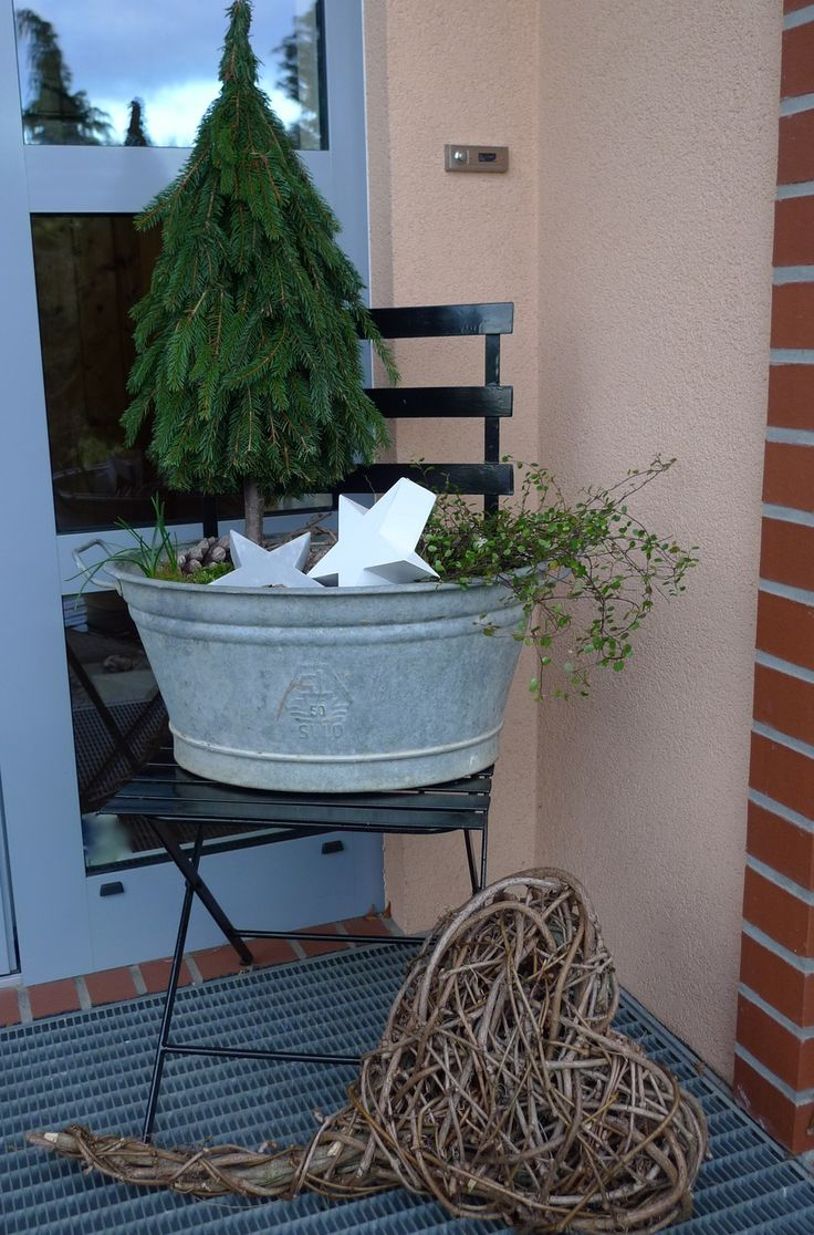 Kleiner Baum in Zinkwanne - Karin Urban - Natural STyle Mehr