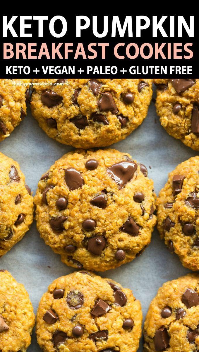 Paleo Pumpkin Breakfast Cookies Vegan Gluten Free In 2020 Pumpkin Breakfast Pumpkin Breakfast Cookies Breakfast Cookies
