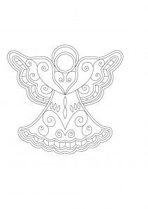 Angel in Richelieu Embroidery - Needles4all