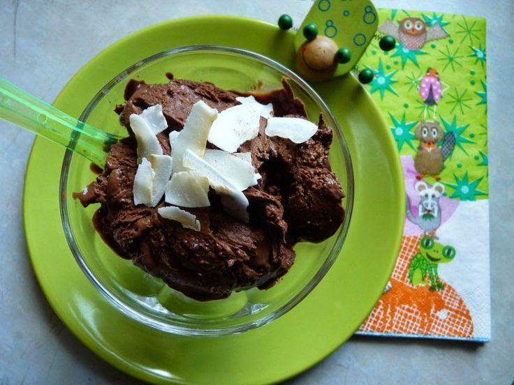 Kókuszos-csoki fagyi