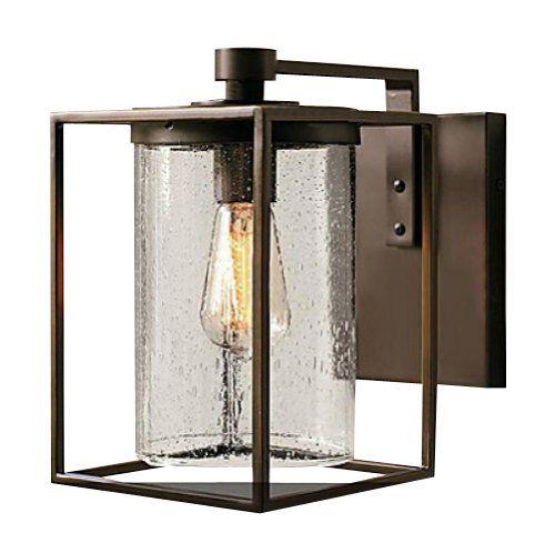unitary applique murale en verre vintage e27 1x40w bronze luminaires et eclairage. Black Bedroom Furniture Sets. Home Design Ideas