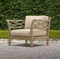 Kingston Lounge Chair - Restoration Hardware