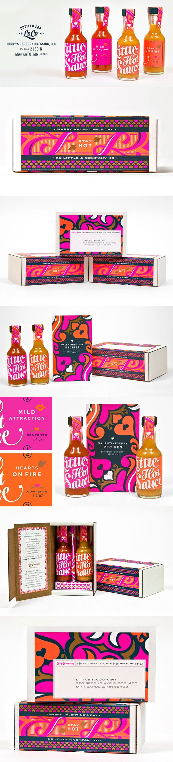 Now that packaging definitely adds some spice to your hot sauce! https://www.retailpackaging.com/categories/11-gift-boxes #typography #packaging #unique