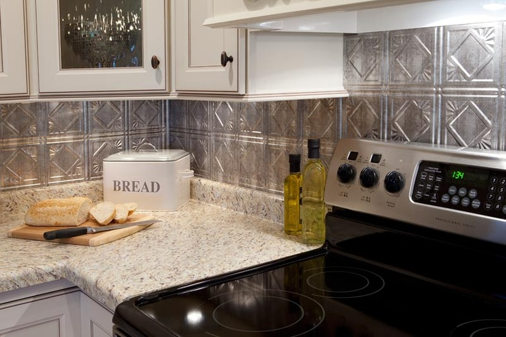 Crosshatch Silver Kitchen Backsplash I M Definitely
