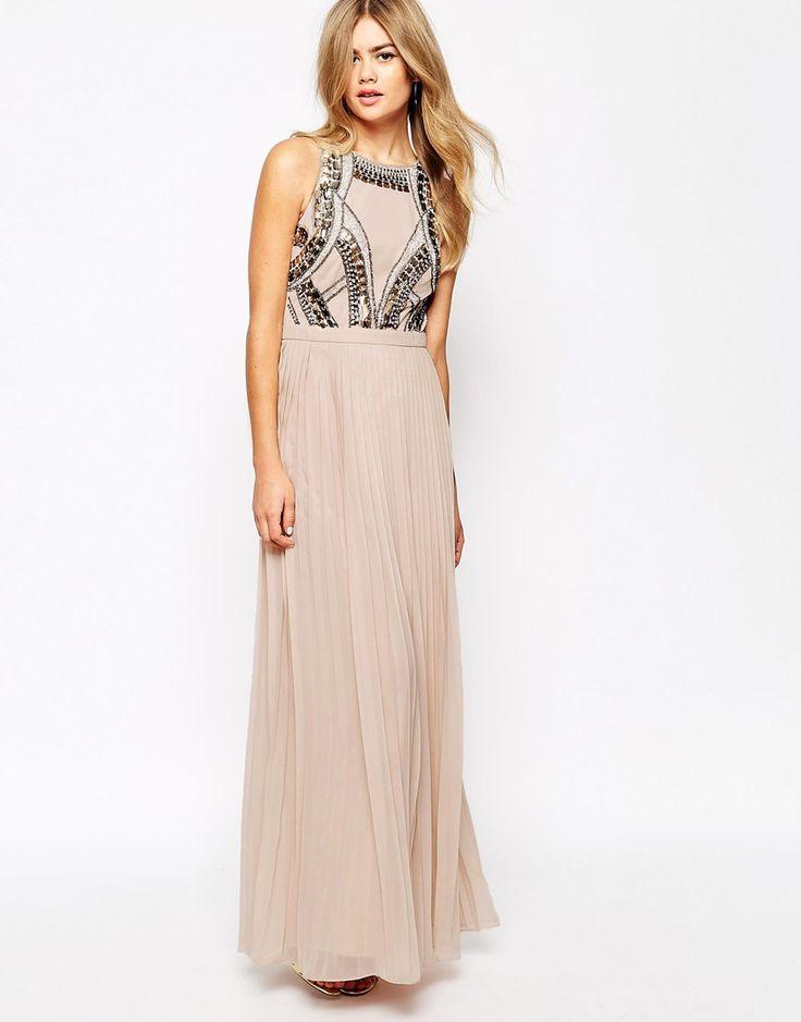 Image 1 of River Island Embellished Maxi Dress