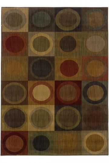Sphere Area Rug - Synthetic Rugs - Contemporary Rugs - Rugs | HomeDecorators.com