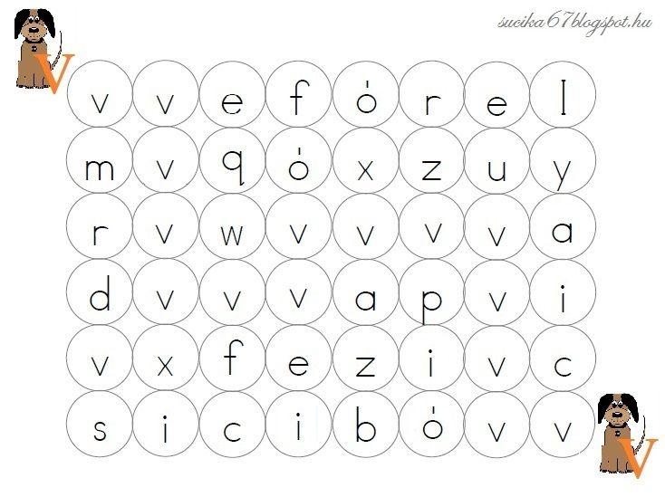 A Meixner - módszer szerint haladva az elmúlt hetek során 8 betűt tanultunk meg. Ügyesek is a gyerekek, de arra gondoltam, a gyakorláshoz k...