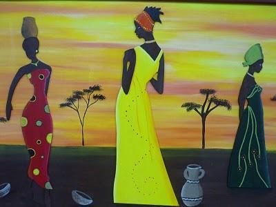 CREACIONES DE SILVIA: Africanas de ALICIA Y VANESA!!!!!!!!!