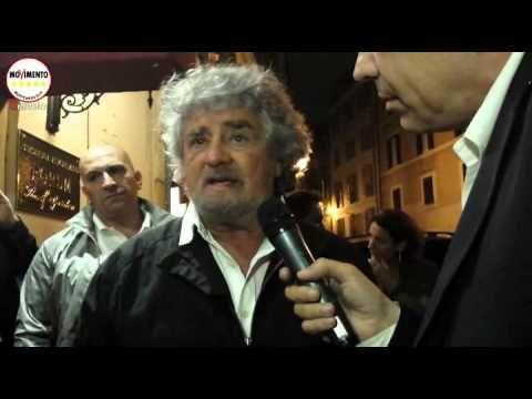 L'intervista integrale di Ballarò a Grillo che non andrà mai in onda