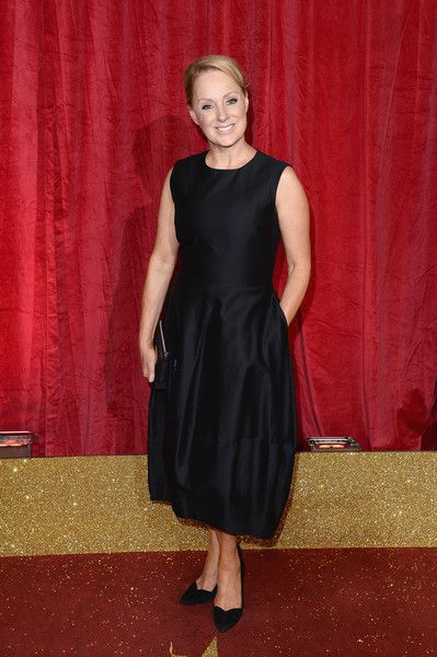Sally Dynevor attends the British Soap Awards 2016 at Hackney Empire on May 28, 2016 in London, England.
