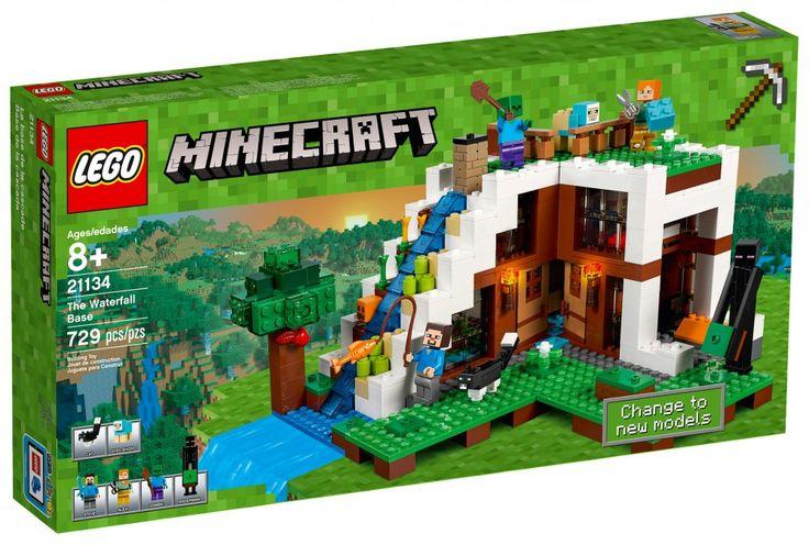 LEGO Minecraft 21134 : La base sous la cascade