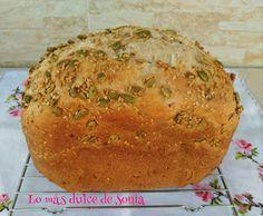 Pan multicereales con semillas en Panificadora   Cocina