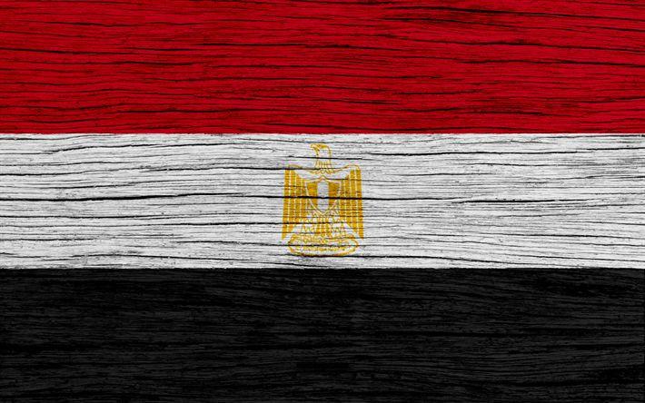 Download wallpapers Flag of Egypt, 4k, Asia, wooden texture, Egyptian flag, national symbols, Egypt flag, art, Egypt