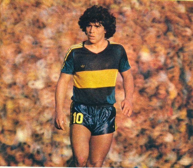 Maradona Retro Pics on | Club atlético boca juniors ...