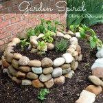 Vegetable Garden Spiral