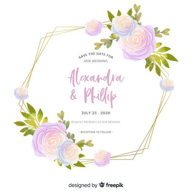 Download Elegant Template For Wedding Invitation For Free Wedding Invitations The Wedding Date Wedding