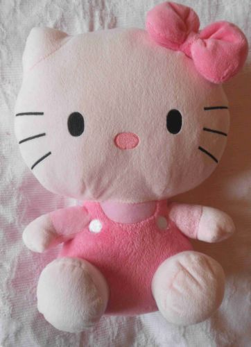 grosse-peluche-doudou-HELLO-KITTY-rose-Ty-sous-license-Sanrio-30-cm-noeud-TTBE