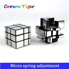 3x3x3 Düzensiz Gümüş çıkartmalar çizim Ayna Blokları 5.7cm Profesyonel Magic Cube Puzzle İstihbarat Oyunu Çocuk çocuk Oyuncakları (Çin (Anakara))