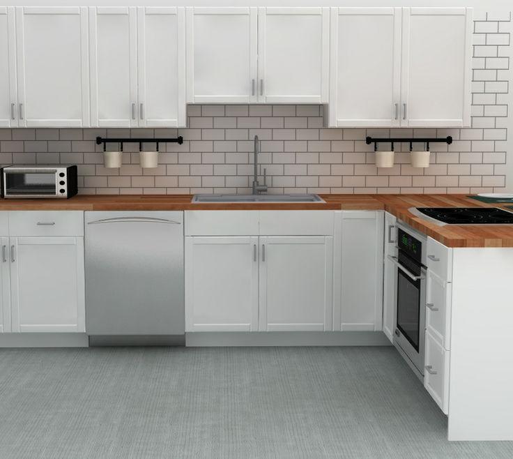 Ceramic Subway Tile Kitchen Backsplash: 62 Best Kitchens Images On Pinterest