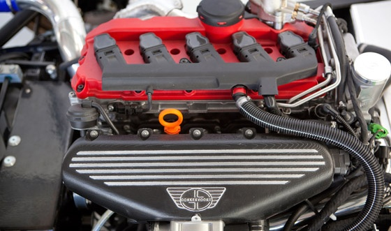 Donkervoort D8 GTO Engine :  AUDI 2,5L R5 TFSI