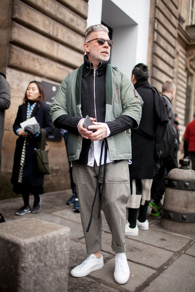 Out and about at Paris Men's Fashion Week