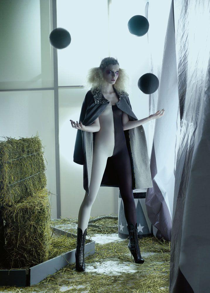 "fulviomaianiblog:  ©ph Fulvio Maiani ""the Circus"" editorial for Zink Magazine NY"